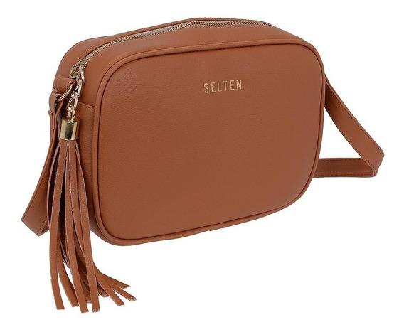 Bolsa Pequena De Lado E Transversal Clutch Lançamento Selten
