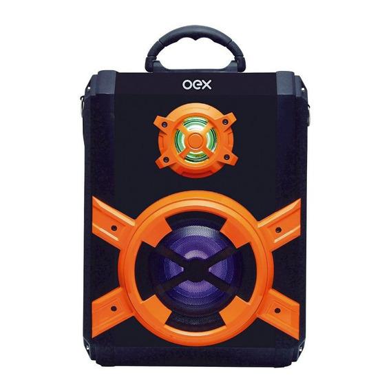 Caixa De Som Oex Portátil Torre Blast Sk600 80w Bluetooth