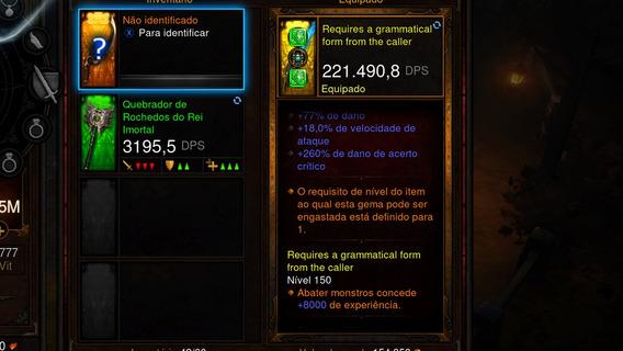 Espada Mais Forte Do Jogo Modo Hardcore Diablo Iii