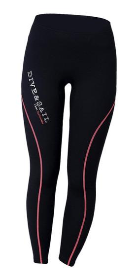 Calças Femininas Masculinas 1.5mm Neoprene Mergulho Mergulho