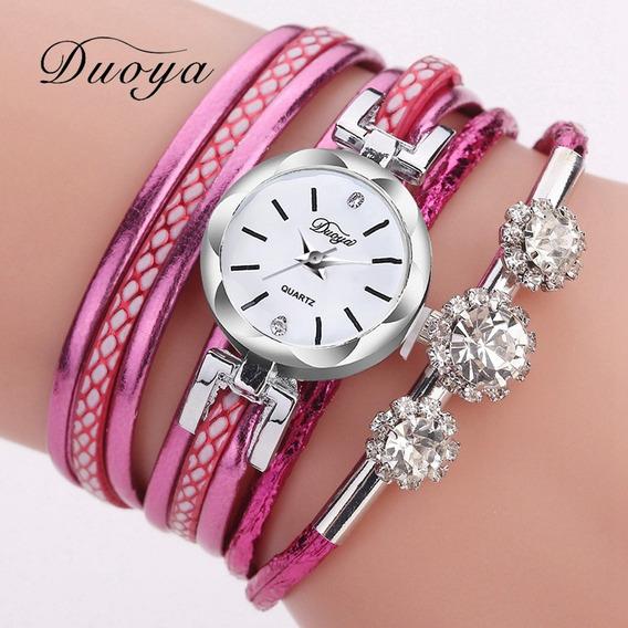 Relógio Feminino Duoya F1dy145