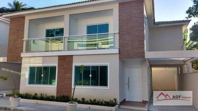 Casa Com 3 Dormitórios À Venda, 95 M² Por R$ 550.000 - Itaipu - Niterói/rj - Ca0228