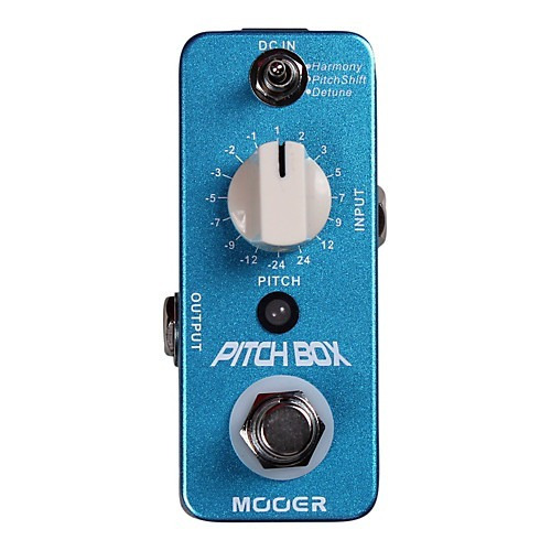 Pedal Mooer Pitch Box Harmony/pitch Shifting Mpbhps