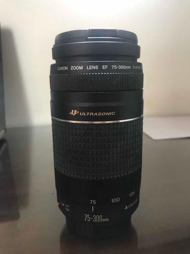 Lente Cânon Zoom Lens Ef 75-300mm F/4-5.6 Usm