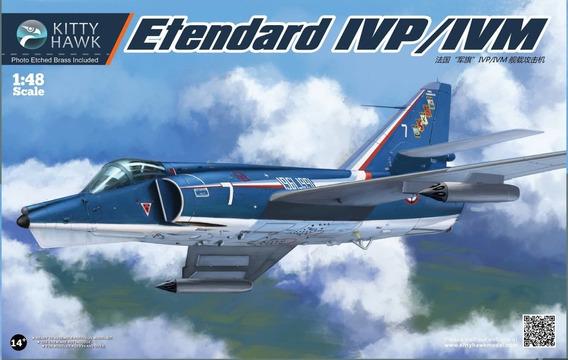 Etendard Ivp/lvm 1:48 Kitty Hawk Kh80137 Milouhobbies