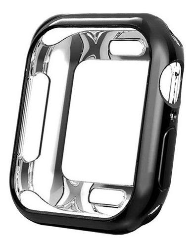 Case Capa Protetora Bumper App Watch Silicone +película E092