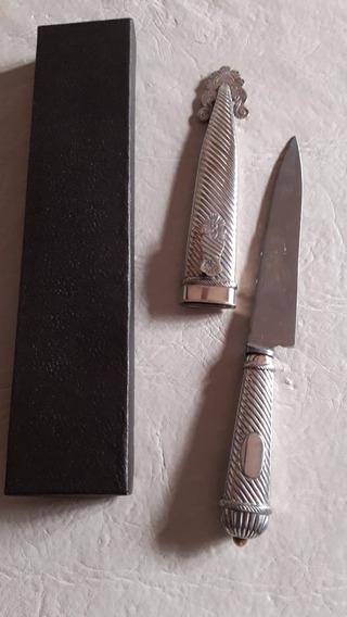 Cuchillo Facón De Alpaca
