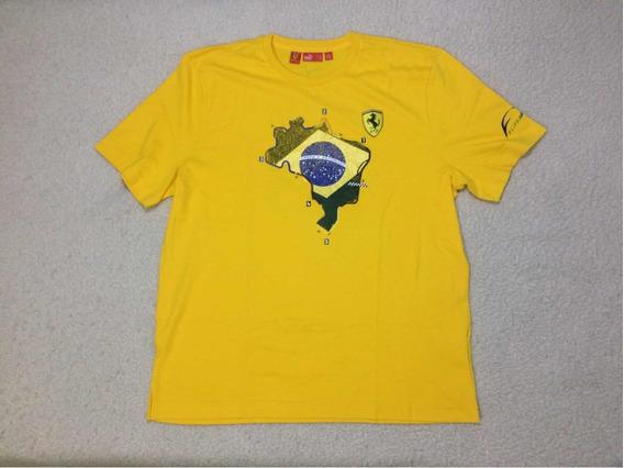 Camiseta Puma & Ferrari *importada*