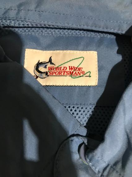 Camisa World Wide Sportsman Para Pesca
