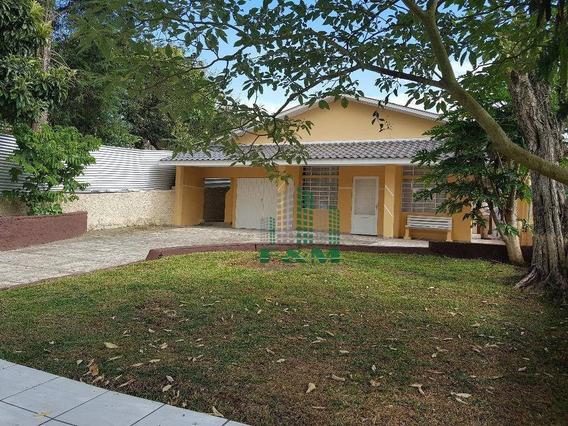 Casa Residencial Para Venda E Locação, Jardim Botânico, Curitiba - Ca0084. - Ca0084