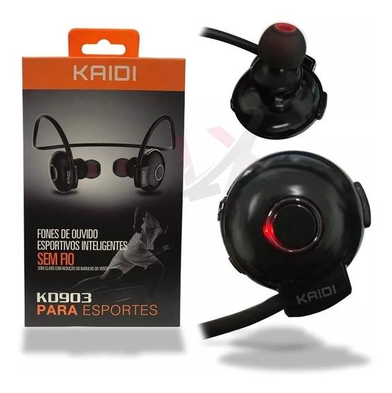 Fone De Ouvido Kd903 In Ear Bluetooth Sem Fio Esporte