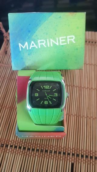Relógio Technos Mariner Verde Original