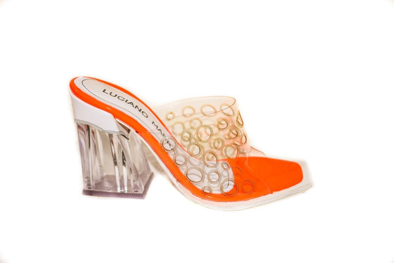 Sandalia Brasilia Orange By Luciano Marra Ss20