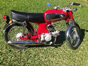 Honda S90 Moto Antiga Restaurada