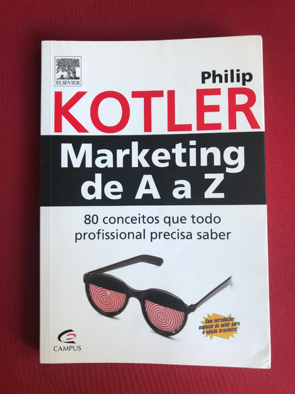 Livro - Marketing De A A Z - Philip Kotler - Campus - Semin.