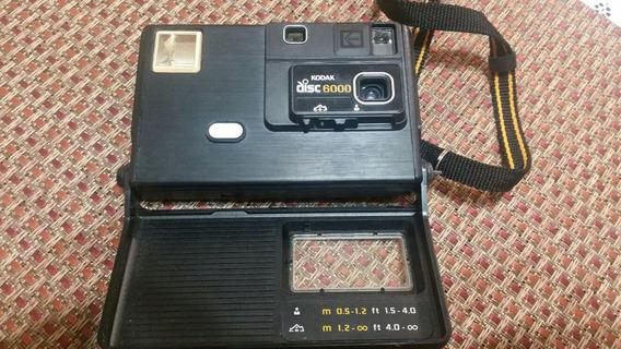 Cámara Kodak Disc 6000. Tipo Vintage