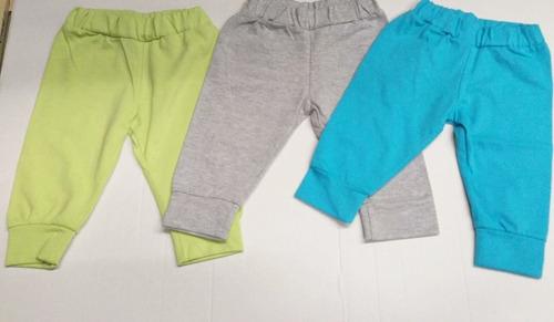Set De 3 Pantalones Para Bebe Nino Colores A Escoger 3 Meses Mercado Libre
