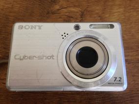 Câmera Fotográfica Digital - Sony Cyber-shot, 7.2 Mpixels