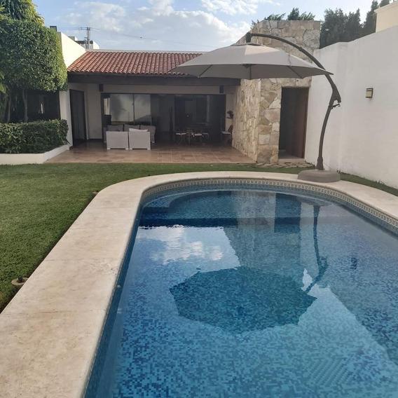 Casa En Renta En Merida, San Ramon Norte, Amplia De Un Solo Piso