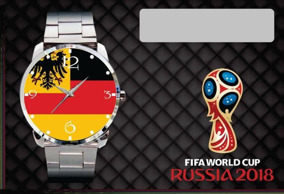 Relógio Pulso Personalizado Copa Do Mundo 2018 Alemanha