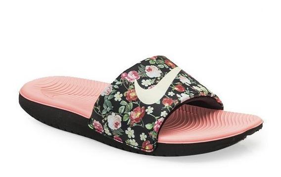 Ojotas Nike Vintage Floral 100% Originales Con Garantía