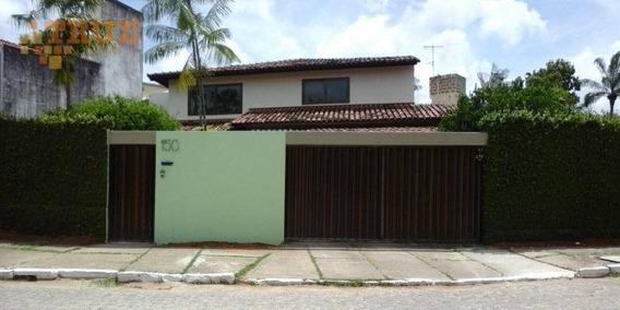 Casa Em Area Nobre Alto Padrao - Ca0343