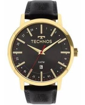 Relógio Pulseira Em Courotechnos Masculino - 2115mmitdy/4p