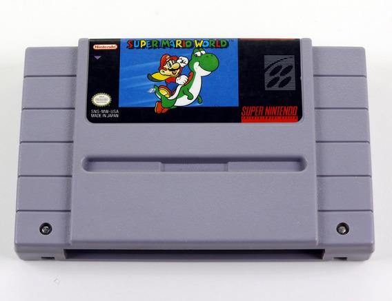 Super Mario World Original Snes Super Nintendo