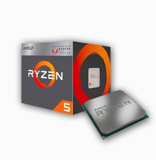 Procesador Amd Ryzen 5 2400 G + Radeon Vega 11 Am4 Nuevo
