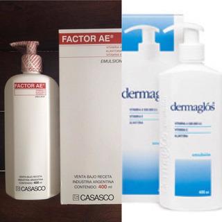 Factor Ae Emulsion Y Dermaglos Emulsion X 400