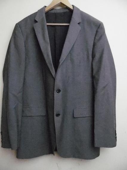 Traje Saco Negro Gray Hugo Boss 44l Usa L119