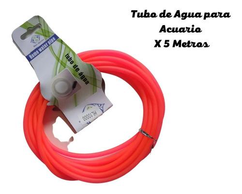 Tubo Para Acuario, De Agua X 5 Metros, Manguera. Entrega Ya!