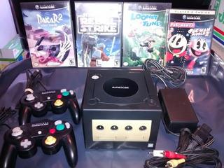 Nintendo Gamecube (usa), 4 Juegos, 2 Joystick, Completa ,ok!