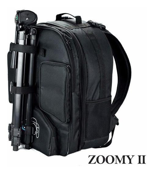 Mochila Fotografica Profissional Zoomy Ii Canon Nikon Sony