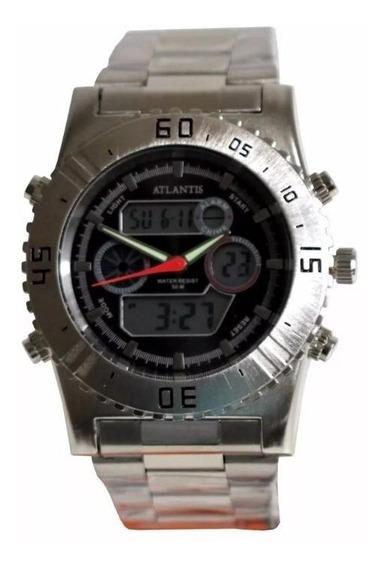 Relógio Masculino Atlantis G3211 Analógico Digital