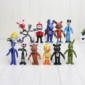 Kit 12 Bonecos Five Nights At Freddy Action Kit Five Nights