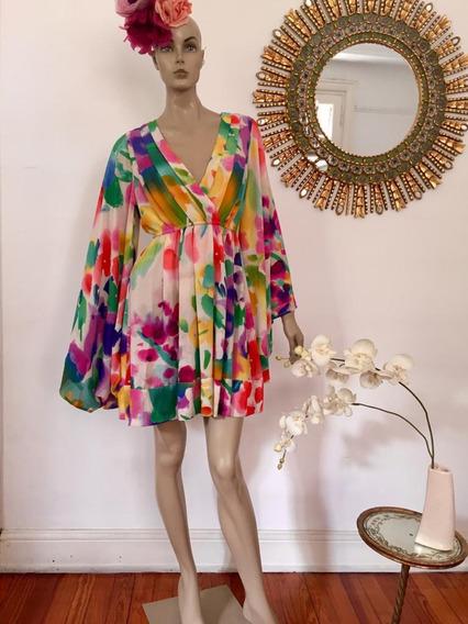 Vestido Kimono H&m, Cher, Zara