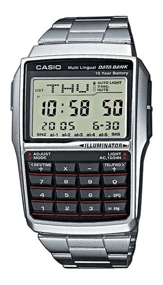 Relógio Casio Masculino Data Bank Dbc-32d-1adf
