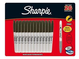 Sharpie Punto Fino Negro 26 Piezas Marcadores Plumones