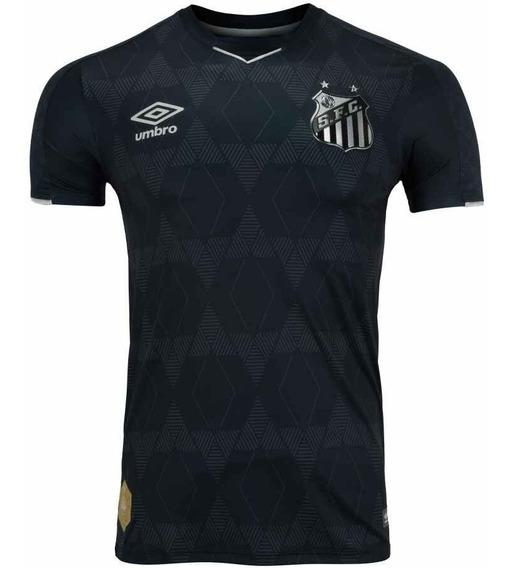 Camisa Santos Preta 2019 Lançamento Oficiall(promoção))