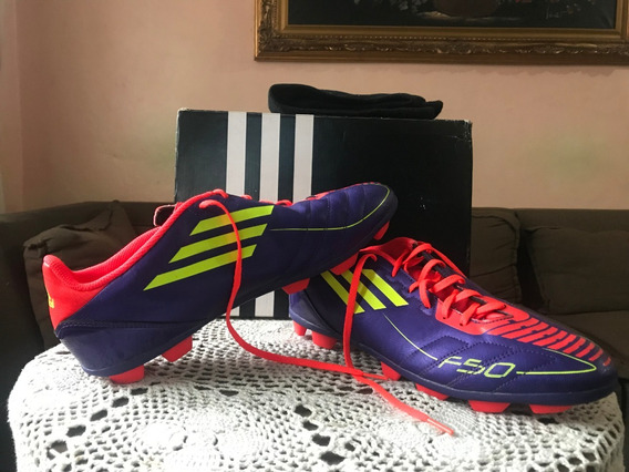 Zapatos adidas F50 Futbol Campo Nuevos