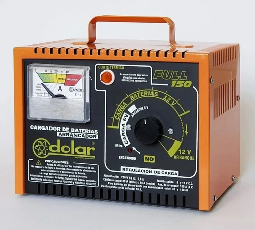 Cargador Arrancador Marca Dolar Full 150 Amp - 6 Y 12 Volts
