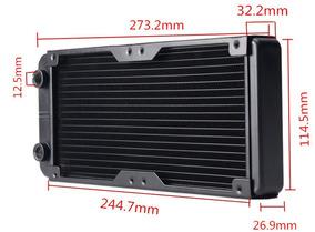 240 Mm De Alumínio Computador Radiador De Água De Refrigeraç