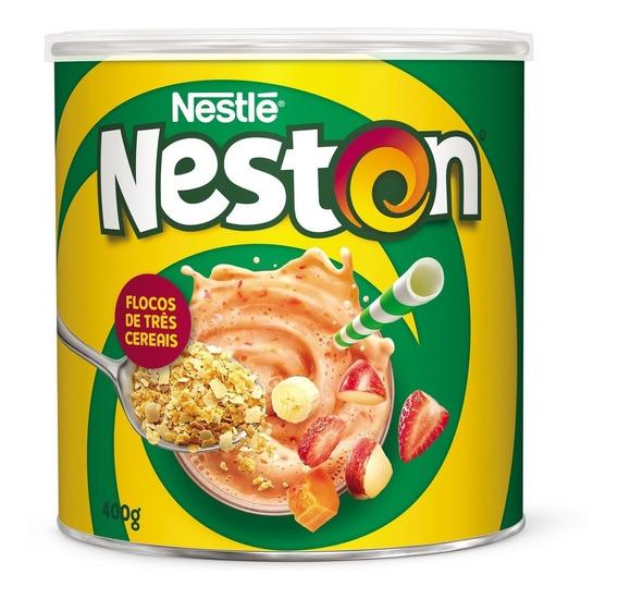 Atacado C/10 Neston 3 Cereais Lata 400g Nestle