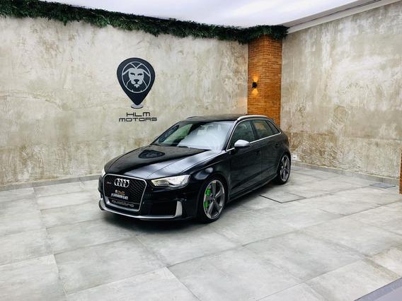 Audi Rs3 2016/2016 Preto Aut. 25mkms Impecável