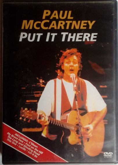 Dvd Paul Mccartney Ao Vivo Raridade Original