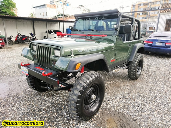 Jeep Wrangler 4x4 Off-road 1995 Sincrónico