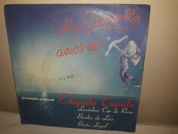 Compacto Celly Campello 1960 Anos 60 Estúpido Cupido