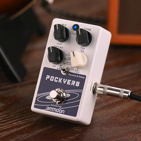 Ammoon Reverb & Delay Guitarra Efeito Pedal 7 Reverb