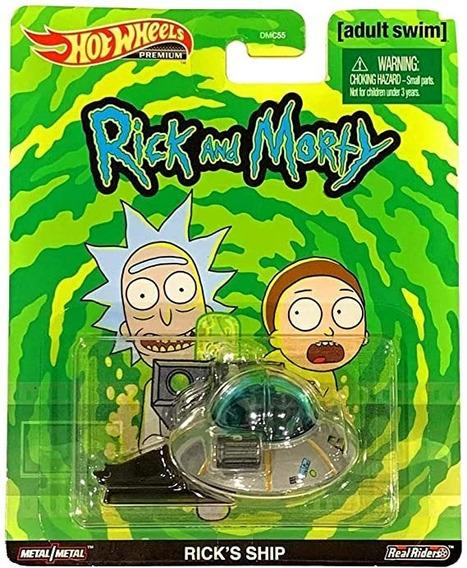 Hot Wheels Retro Premium Rick´s Ship Rick And Morty Nave